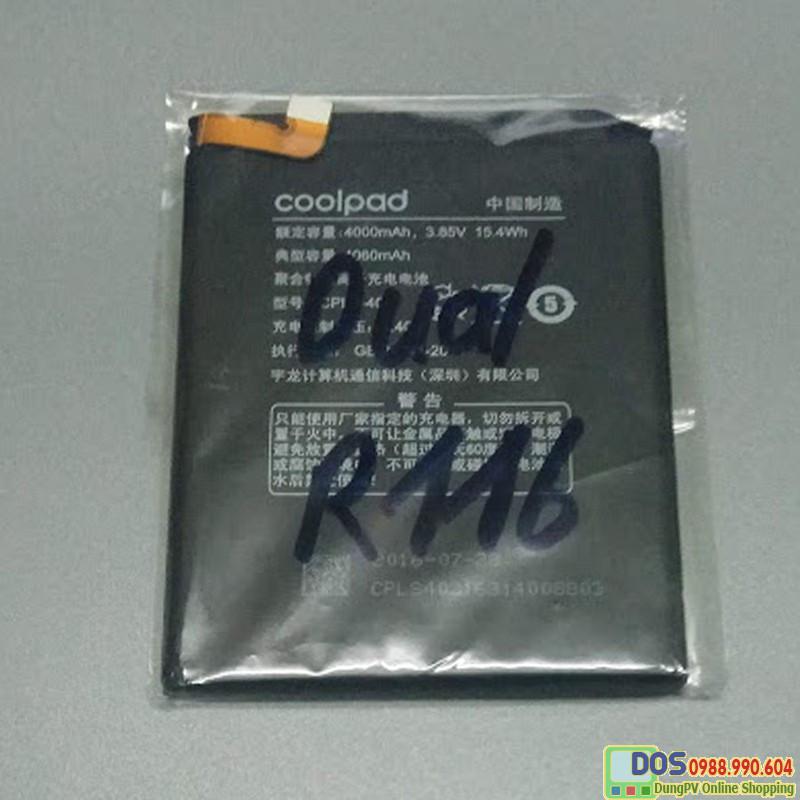 thay pin điện thoại coolpad dual r116 chính hãng 2