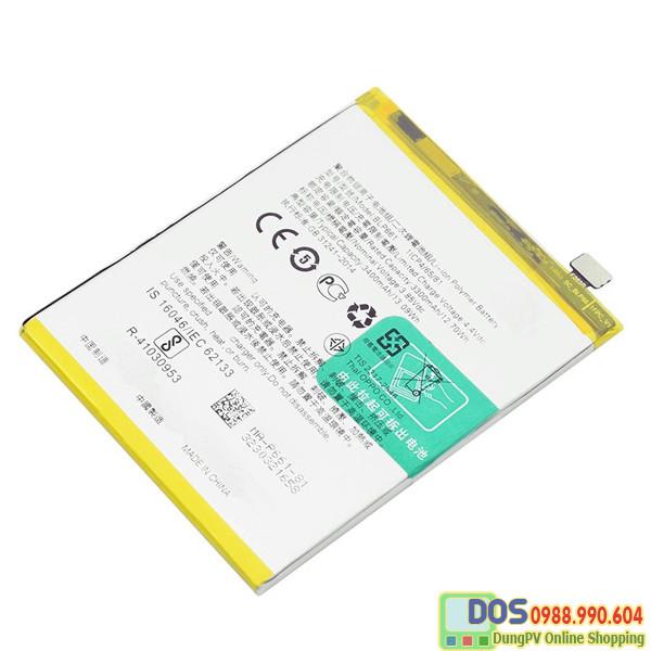 Thay pin điện thoại oppo a91 chính hãng