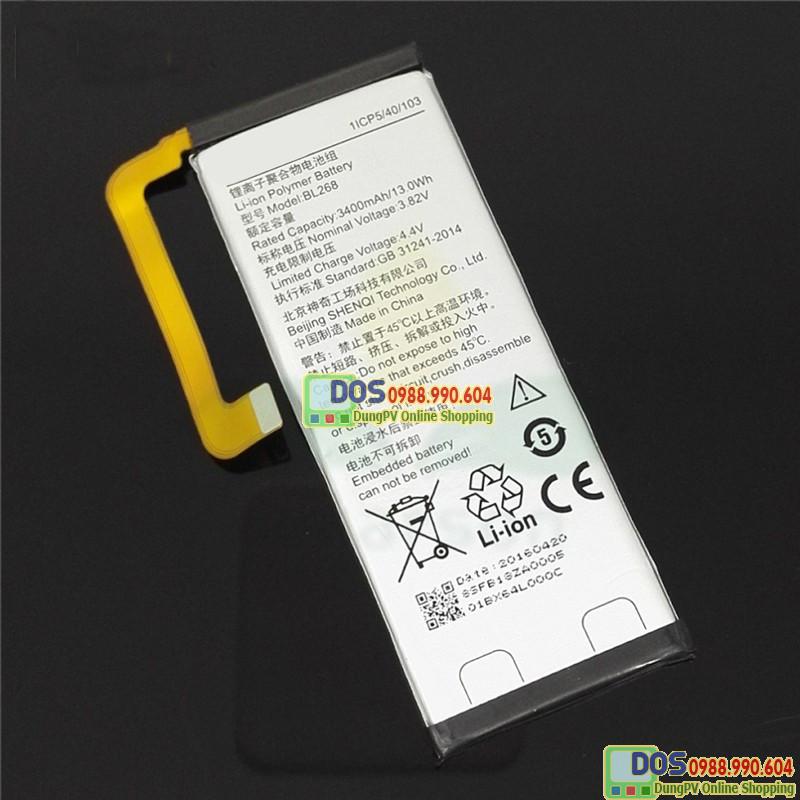 thay pin điện thoại lenovo zuk z2 plus chính hãng 2