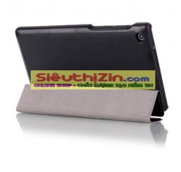 Bao da lenovo tab2 a7-30 chất da cao cấp smart cover