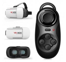 Kính thực tại ảo 3D VR BOX 2 cao cấp kèm tay chơi Game ti hon bluetooth