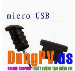 Nút Chắn Bụi cổng audio và micro usb