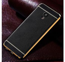 Ốp da Meizu M5 silicone phủ da, ốp lưng Meizu M5