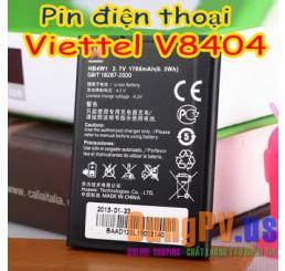 Pin điện thoại Viettel V8404